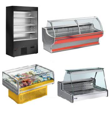 Comptoirs réfrigérés- Meubles mural réfrigérés- Vitrines réfrigérées