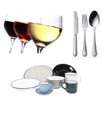 Vaisselles- Couverts- Verres
